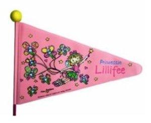 Bike Fashion 825154 - Fahrradwimpel: Prinzessin Lillifee