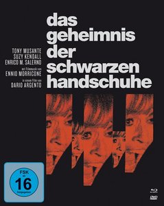 Das Geheimnis der schwarzen Handschuhe - Mediabook (1 Blu-ray +