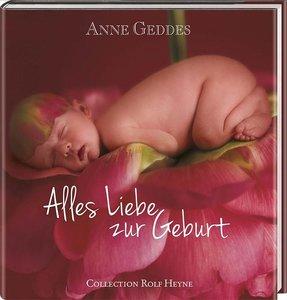 Geddes, A: Alles Liebe zur Geburt (rot)