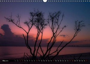 Romantic Sunsets (UK - Version) (Wall Calendar 2015 DIN A3 Lands