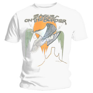 On The Border-T-Shirt Gr.L (White)