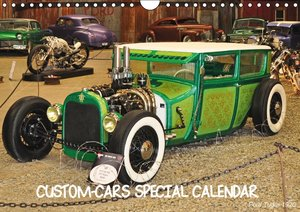 Custom-Cars Special Calendar (Wall Calendar perpetual DIN A4 Lan