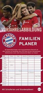 FC Bayern München Familienplaner - Kalender 2018