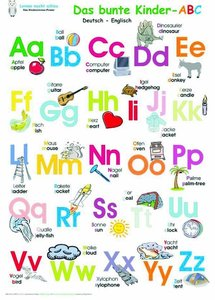 Das bunte Kinder-ABC deutsch/englisch