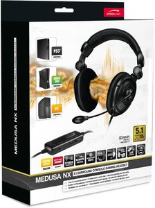 Speedlink Medusa NX 5.1 Surround Console Gaming Headset für PC,