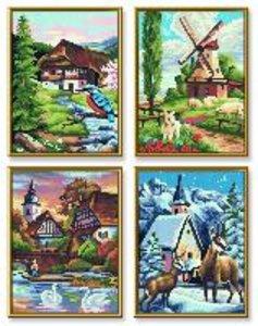 Schipper Malen nach Zahlen - Die vier Jahreszeiten (Quattro)