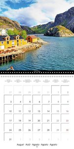 Norway a cruise to Northern Europe (Wall Calendar 2015 300 × 300