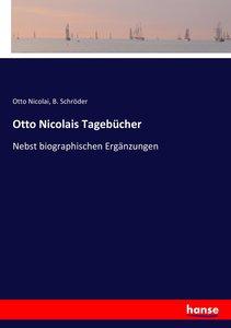 Otto Nicolais Tagebücher