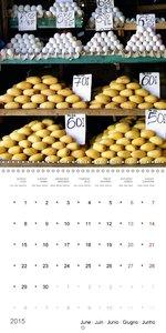 Tropical Market (Wall Calendar 2015 300 × 300 mm Square)