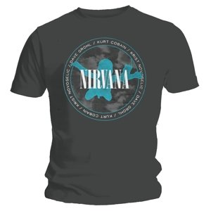 Nevermind Silhouette (T-Shirt,Schwarz,Größe L)