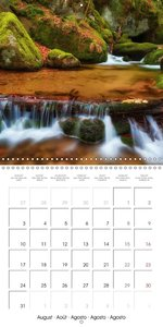 SONGS OF FALLING WATERS (Wall Calendar 2015 300 &times 300 mm Sq