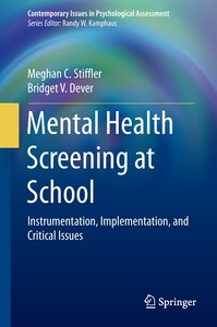 Mental Health Screening at School