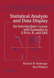 Statistical Analysis and Data Display