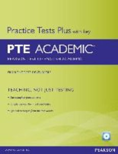 Pearson Test of English Academic Practice Tests Plus (with Key)