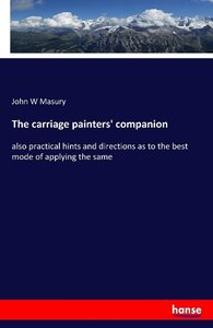 The carriage painters' companion