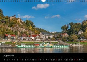 Saxon Switzerland / UK-Version (Wall Calendar 2016 DIN A3 Landsc