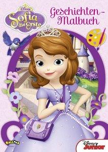 Sofia die Erste - Geschichten-Malbuch