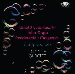 Lutoslawski & Penderecki: String Quartets