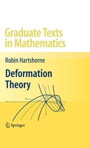 Deformation Theory