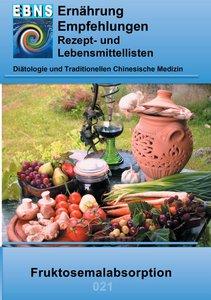 Ernährung bei Fruktosemalabsorption