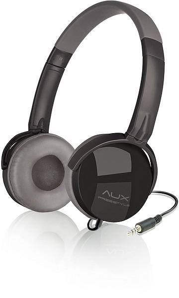 AUX - FREESTYLE Stereo Headset, black-grey SL-8752-BKGR - zum Schließen ins Bild klicken