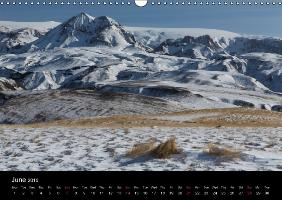 "Fascinating Mountains of Island. The Laugavegur in Winter. ""UK-V - zum Schließen ins Bild klicken"