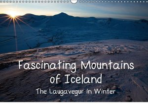 "Fascinating Mountains of Island. The Laugavegur in Winter. ""UK-V"