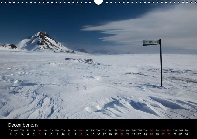 """Fascinating Mountains of Island. The Laugavegur in Winter. """"UK-V - zum Schließen ins Bild klicken"""