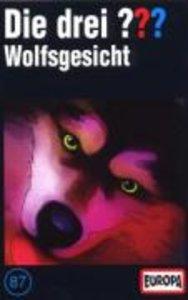 Die drei ??? 087. Wolfsgesicht (drei Fragezeichen). Cassette