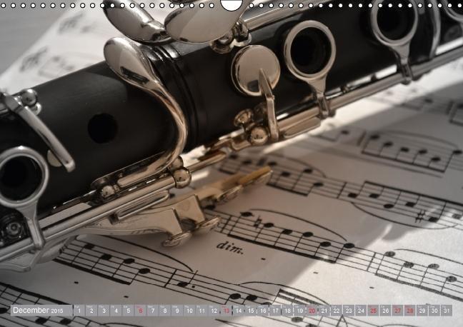 Music Magic of musical instruments (Wall Calendar 2015 DIN A3 La - zum Schließen ins Bild klicken