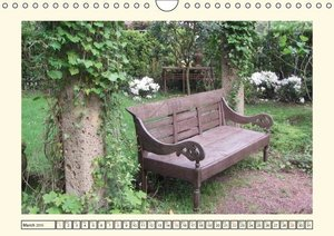 Places to rest (Wall Calendar 2015 DIN A4 Landscape)