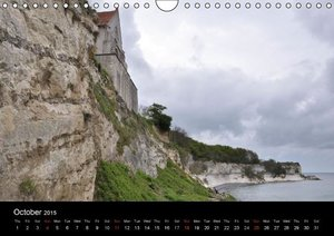 Stevns Cliffs (Wall Calendar 2015 DIN A4 Landscape)