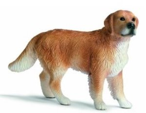 Schleich 16377 - Farm Life: Golden Retriever Rüde