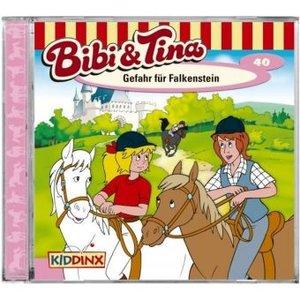 Bibi und Tina 40. Gefahr für Falkenstein. CD