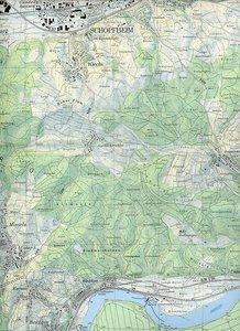 Swisstopo 1 : 25 000 Rheinfelden