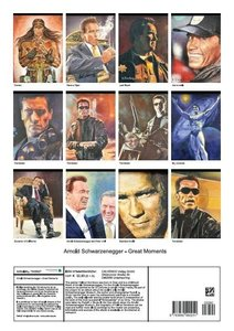 Arnold Schwarzenegger - Great Moments (Poster Book DIN A3 Portra