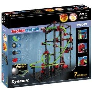 Fischertechnik Profi 511932 - Dynamic, Kugelbahn, Achterbahn, 7