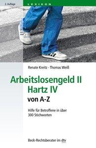 Arbeitslosengeld II · Hartz IV von A-Z