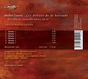 Les Delices De La Solitude-Cellosonaten