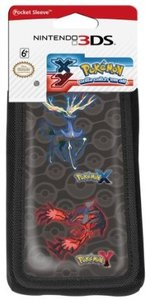 Pokemon X & Y Pocket Sleeve - Schutztasche für Nintendo