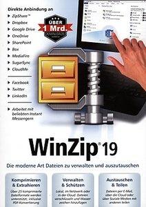 Globell WinZip 19 Standard (Komprimierungssoftware)