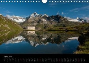 Valais Alps (Wall Calendar 2015 DIN A4 Landscape)