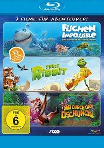 Abenteurer-Box 3D (Fischen Impossible / Prinz Ribbit / Ab durch