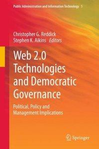 Web 2.0 Technologies and Democratic Governance