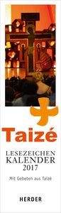 Taizé - Lesezeichenkalender 2017