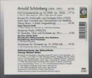 Funf Orchesterstucke,op.16/Konzert f.Violonce