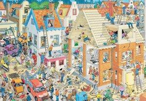 Jan van Haasteren - Die Baustelle - 3000 Teile