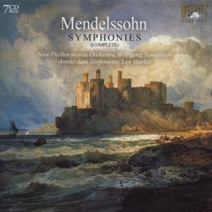 Mendelssohn Sämtliche Sinfonien
