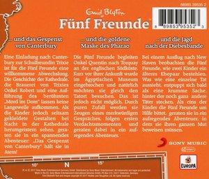 029/3er Box-Folgen 88/102/104-Fünf Freunde überlis