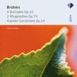 Händel-Variationen/4 Balladen/2 Rhapsodies